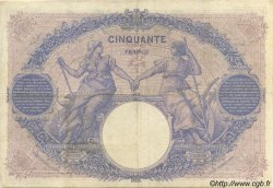 50 Francs BLEU ET ROSE FRANCE  1905 F.14.17 TB