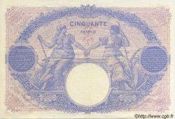 50 Francs BLEU ET ROSE FRANCE  1912 F.14.25 SUP