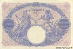 50 Francs BLEU ET ROSE FRANCE  1915 F.14.28 SUP