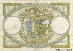 50 Francs LUC OLIVIER MERSON type modifié FRANCE  1930 F.16.01 pr.TB