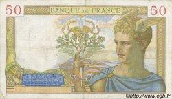 50 Francs CÉRÈS FRANCE  1935 F.17.06 pr.TTB