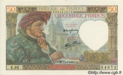 50 Francs Jacques CŒUR FRANCE  1941 F.19.12 pr.NEUF