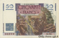 50 Francs LE VERRIER FRANCE  1947 F.20.08 SPL+