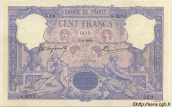 100 Francs BLEU ET ROSE FRANCE  1905 F.21.19 TTB