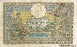 100 Francs LUC OLIVIER MERSON sans LOM FRANCE  1909 F.23.01 TB à TTB