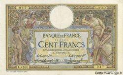 100 Francs LUC OLIVIER MERSON sans LOM FRANCE  1914 F.23.06 pr.SUP