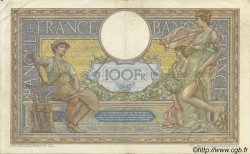 100 Francs LUC OLIVIER MERSON sans LOM FRANCE  1915 F.23.07 TTB+
