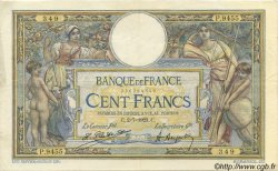 100 Francs LUC OLIVIER MERSON sans LOM FRANCE  1923 F.23.16