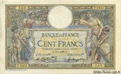 100 Francs LUC OLIVIER MERSON sans LOM FRANCE  1923 F.23.16 TTB+