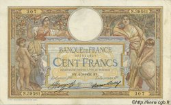 100 Francs LUC OLIVIER MERSON grands cartouches FRANCE  1933 F.24.12