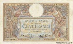 100 Francs LUC OLIVIER MERSON type modifié FRANCE  1938 F.25.25 TTB+