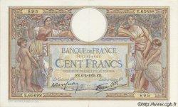 100 Francs LUC OLIVIER MERSON type modifié FRANCE  1939 F.25.45 SUP+
