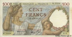 100 Francs SULLY FRANCE  1941 F.26.60 SUP