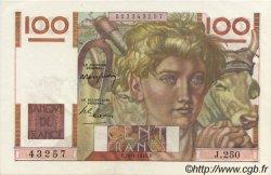 100 Francs JEUNE PAYSAN FRANCE  1948 F.28.18 SPL+
