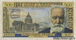 500 Francs VICTOR HUGO FRANCE  1954 F.35.02 TB