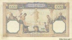 1000 Francs CÉRÈS et MERCURE FRANCE  1931 F.37.06 TTB+