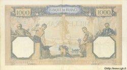 1000 Francs CÉRÈS ET MERCURE type modifié FRANCE  1938 F.38.13 TTB+