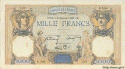 1000 Francs CÉRÈS ET MERCURE type modifié FRANCE  1939 F.38.37 pr.TTB