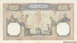 1000 Francs CÉRÈS ET MERCURE type modifié FRANCE  1940 F.38.43 pr.SUP