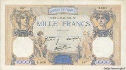 1000 Francs CÉRÈS ET MERCURE type modifié FRANCE  1940 F.38.48 TTB