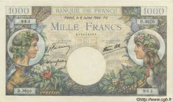 1000 Francs COMMERCE ET INDUSTRIE FRANCE  1944 F.39.10 NEUF