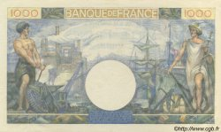 1000 Francs COMMERCE ET INDUSTRIE FRANCE  1944 F.39.11 SPL+