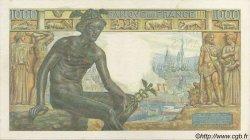 1000 Francs DÉESSE DÉMÉTER FRANCE  1942 F.40.02 pr.SPL