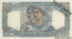 1000 Francs MINERVE ET HERCULE FRANCE  1948 F.41.00s6 SPL