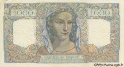 1000 Francs MINERVE ET HERCULE FRANCE  1945 F.41.06 pr.SPL