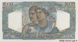 1000 Francs MINERVE ET HERCULE FRANCE  1949 F.41.28 SUP à SPL