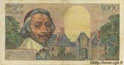 1000 Francs RICHELIEU FRANCE  1955 F.42.13 TB+
