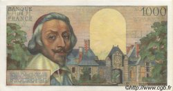 1000 Francs RICHELIEU FRANCE  1956 F.42.19 SUP+