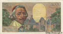 1000 Francs RICHELIEU FRANCE  1956 F.42.20 TTB+