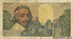 1000 Francs RICHELIEU FRANCE  1957 F.42.26 TB+