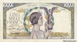 5000 Francs VICTOIRE FRANCE  1935 F.44.02 pr.SUP