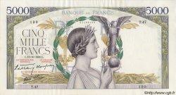 5000 Francs VICTOIRE Taille Douce FRANCE  1938 F.45.01 TTB+