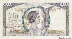 5000 Francs VICTOIRE Impression à plat FRANCE  1939 F.46.11 TTB