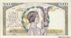 5000 Francs VICTOIRE Impression à plat FRANCE  1941 F.46.29 SUP+