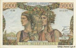 5000 Francs TERRE ET MER FRANCE  1951 F.48.04 SUP+