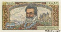 5000 Francs HENRI IV FRANCE  1957 F.49.00 NEUF