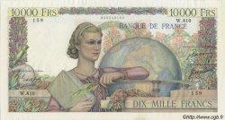 10000 Francs GÉNIE FRANÇAIS FRANCE  1950 F.50.34 SUP+