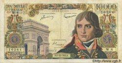 10000 Francs BONAPARTE FRANCE  1955 F.51.01 TB