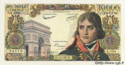 10000 Francs BONAPARTE FRANCE  1957 F.51.10 pr.SPL