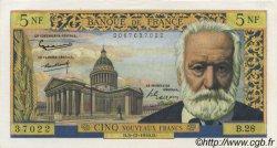 5 Nouveaux Francs VICTOR HUGO FRANCE  1959 F.56.04 pr.NEUF