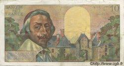 10 Nouveaux Francs RICHELIEU FRANCE  1960 F.57.09 TTB à SUP