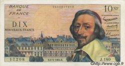 10 Nouveaux Francs RICHELIEU FRANCE  1961 F.57.15 TTB+