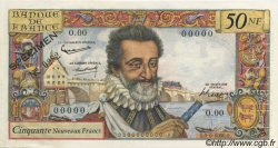 50 Nouveaux Francs HENRI IV FRANCE  1959 F.58.00 SPL+