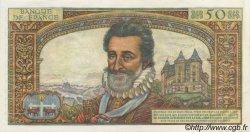 50 Nouveaux Francs HENRI IV FRANCE  1959 F.58.00s2 SPL+
