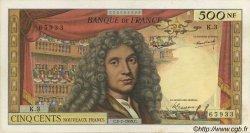 500 Nouveaux Francs MOLIÈRE FRANCE  1959 F.60.01 SUP+