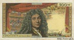 500 Nouveaux Francs MOLIÈRE FRANCE  1963 F.60.04 TTB